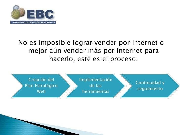 Ebc como vender más por internet
