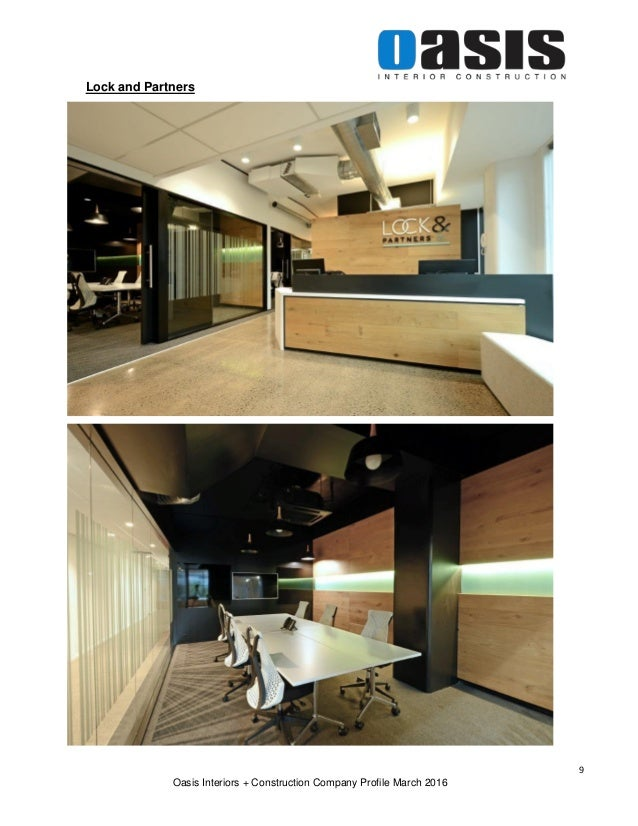 8 Oasis Interiors Construction Company Profile March 2016 9