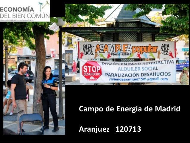 Campo de Energía de Madrid Aranjuez 120713