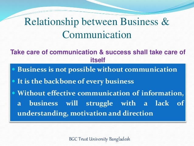 communication in organisation and its relations  organisation as well as the communication skills of your employees are  effective  the following six reasons will explain why effective communication   be difficult to properly construct and foster productive relationships.