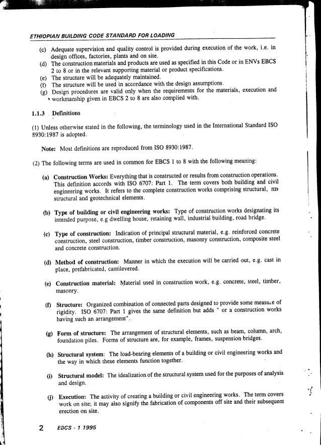 Ethiopian Building Code Standard Pdf - qsoftprosoft