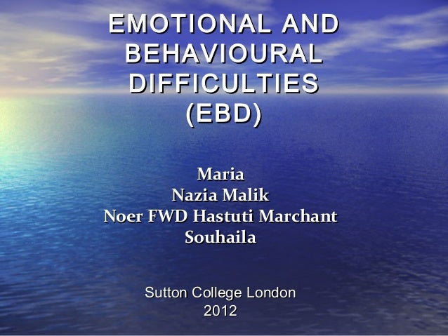 the link between social emotional and behavioural difficulties Many of the emotional problems caused by dyslexia occur out of frustration with school or social situations social scientists have frequently observed that frustration produces anger this can be clearly seen in many dyslexics.