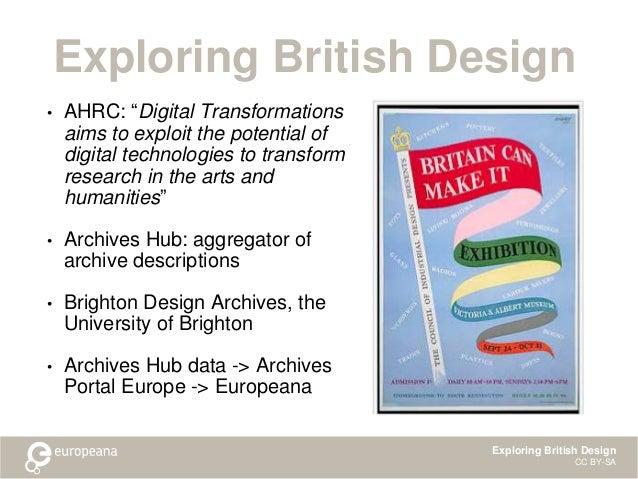 Exploring British Design Slide 2