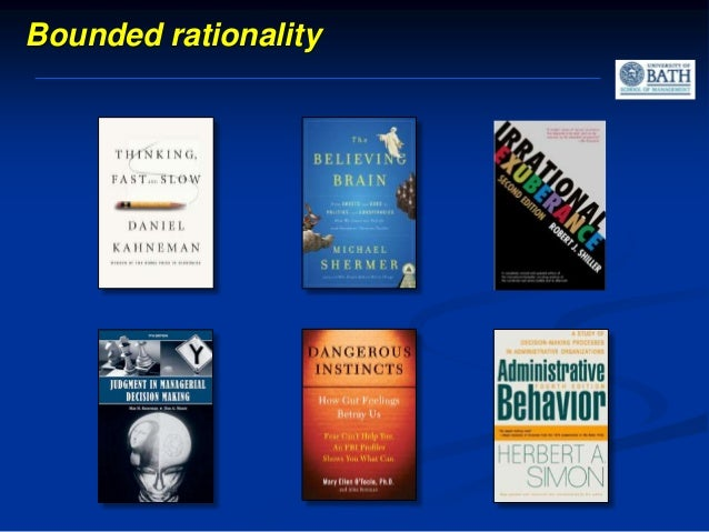 1. Pattern recognition 2. Confirmation-bias 3. Groupthink Cognitive errors that mess up decision making