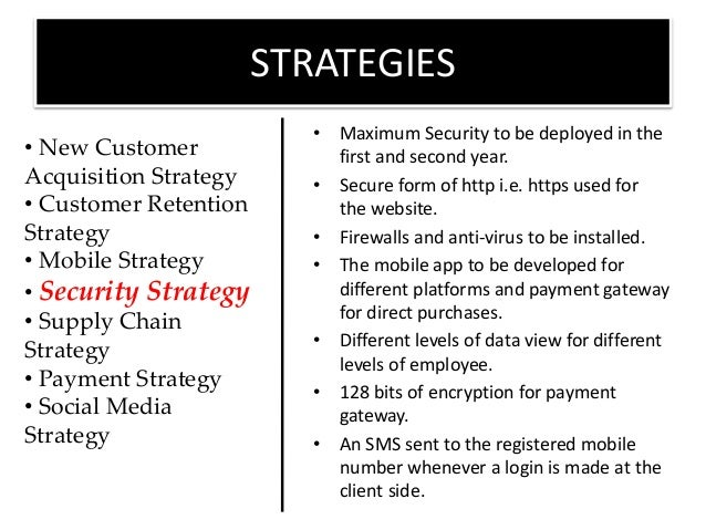 Free security business plan sample