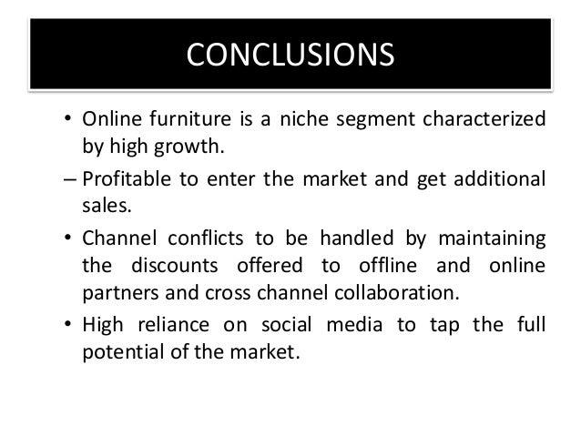 AGENDA Market Scanning SWOT Roadmap Strategies Conclusions; 30. CONCLUSIONS  U2022 Online Furniture ...