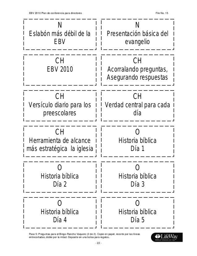Ebdv 2010 Material Para Maestros