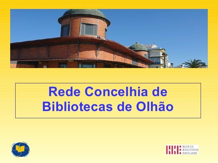 Rede Concelhia de Bibliotecas de Olhão