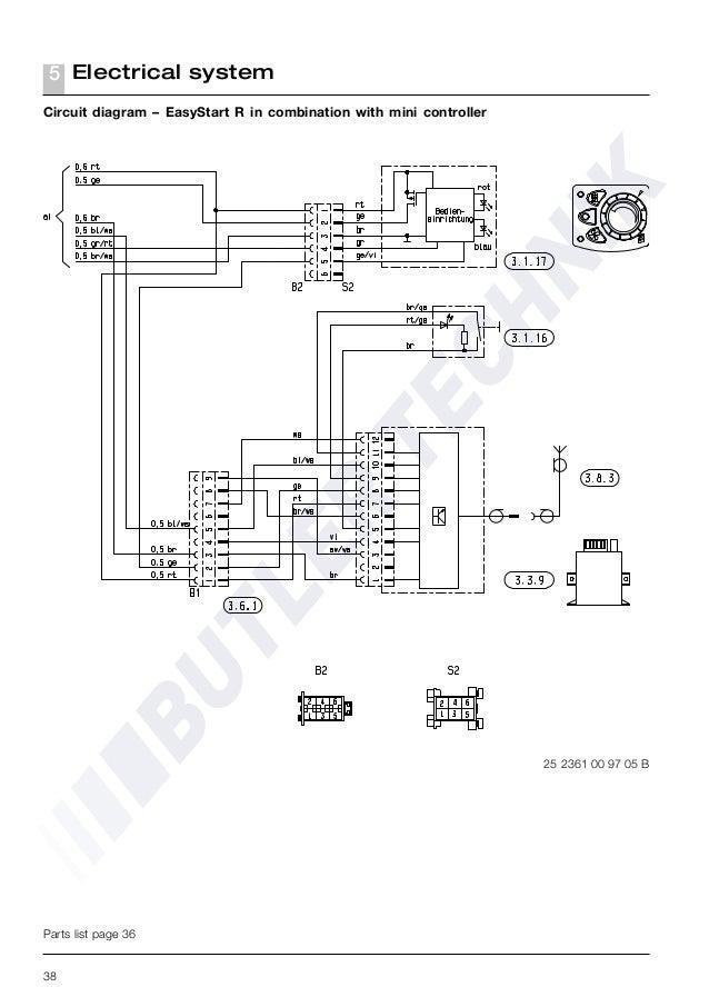 Espar Airtronic D2 Parts Manual