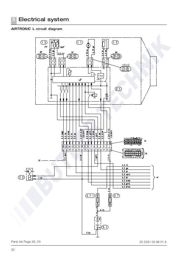 eberspacher airtronic d5 technical manual rh slideshare net