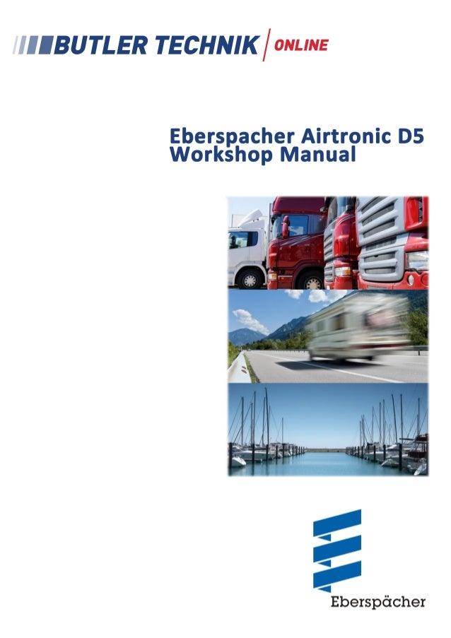 L Troubleshooting and Repair Instructions  Eberspächer  J. Eberspächer GmbH & Co. KG Eberspächerstr. 24 D-73730 Esslingen ...