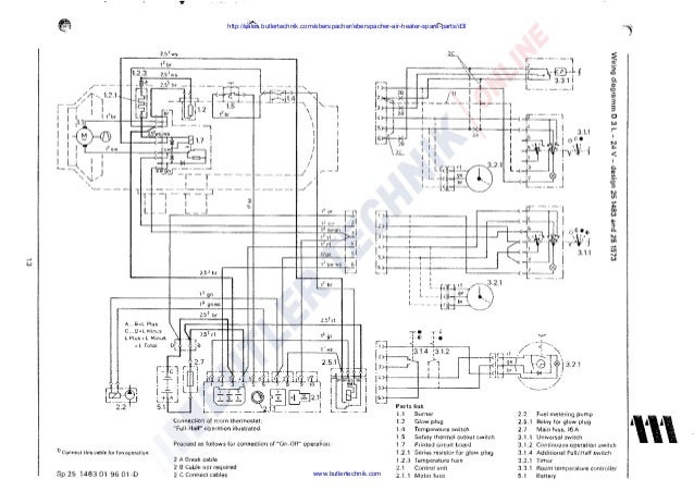 eberspacher wiring diagram   26 wiring diagram images