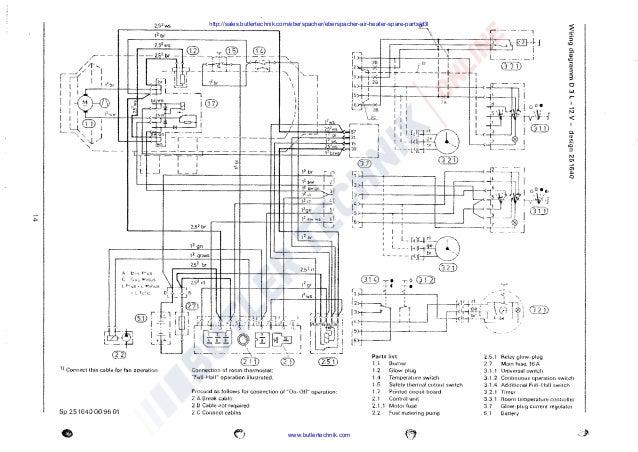 Eberspacher d wiring diagram fuse box