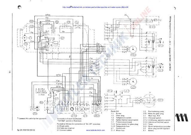 eberspacher d3l  b3l installation manual