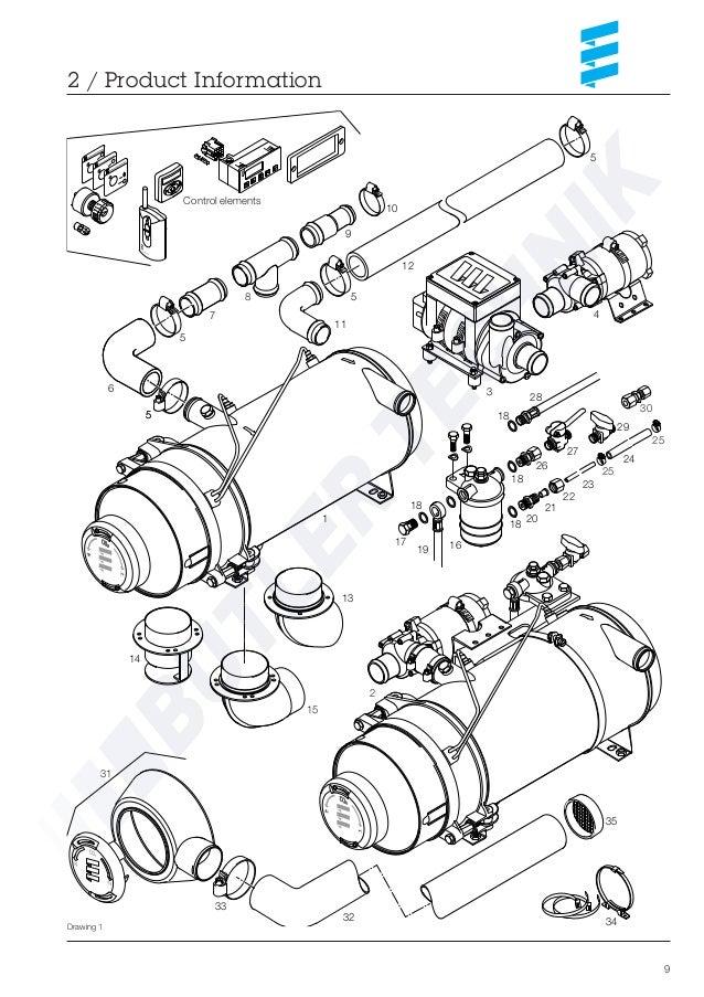 Eberspacher Hydronic 30 Workshop Manual