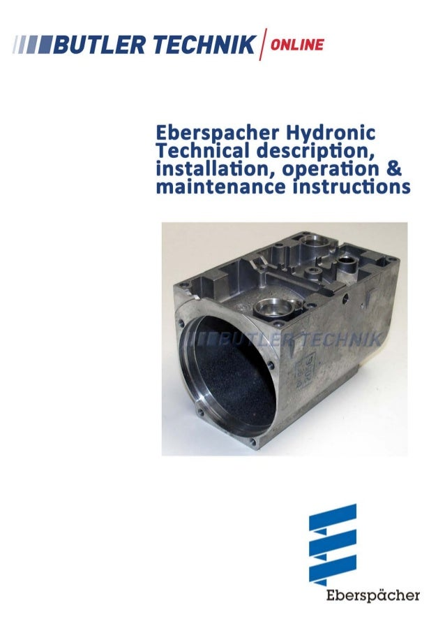 Eberspacher Hydronic B4WSC Technical Overview Document and