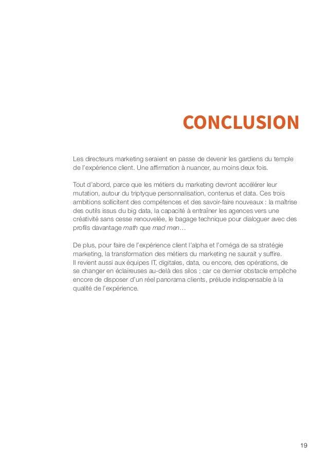 20 Quelles utilisations de la DMP pour un marketing personnalisé et créatif ? Les consommateurs ont adopté toute une série...