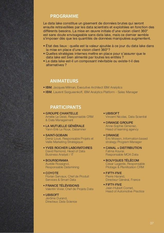 39 ÉRIC MOISON ORANGE Je suis justement en charge de cette vue à 360 du client pour le groupe, sur les aspects métiers/bus...