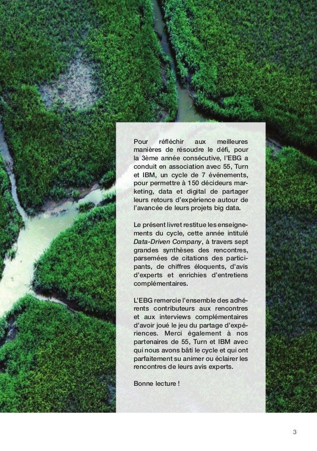 4 P.18 PRÉAMBULEP.02 P.06 P.20 P.08 P.22 P.32 P.34 P.36 P.46 CHAPITRE 1 : COMMENT EXPLOITER LE BIG DATA POUR AMÉLIORER L'E...