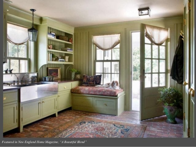 """Featured in New England Home Magazine, """"A Beautiful Blend"""""""