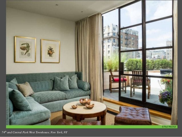 74th and Central Park West Townhouse, New York, NY