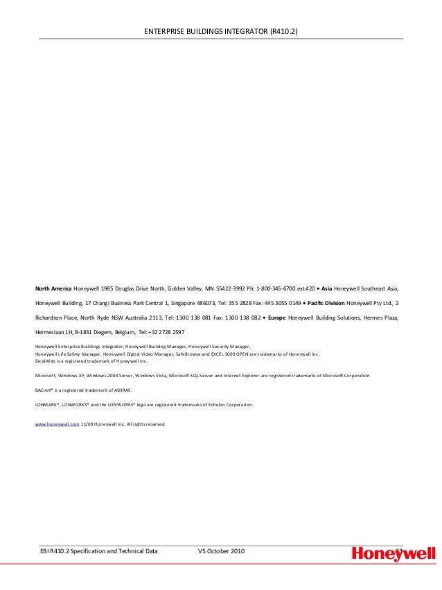 ebi katalogowa rh slideshare net Ebi Honeywell Controller Honeywell EBI BNA