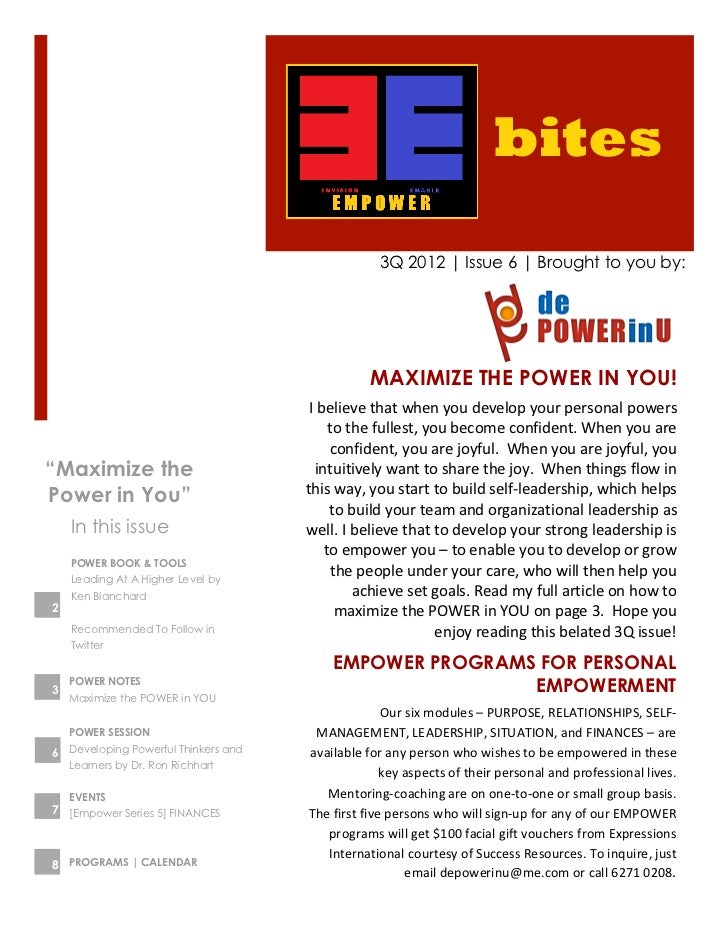 bites                                                        3Q 2012 | Issue 6 | Brought to you by:                       ...