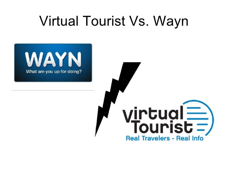 Virtual Tourist Vs. Wayn