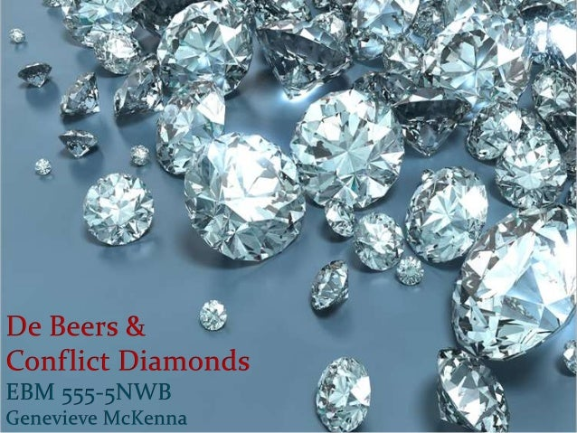  De Beers created the  need for diamonds in  American culture. Their ad campaign  solidified the diamond  being a symbol...