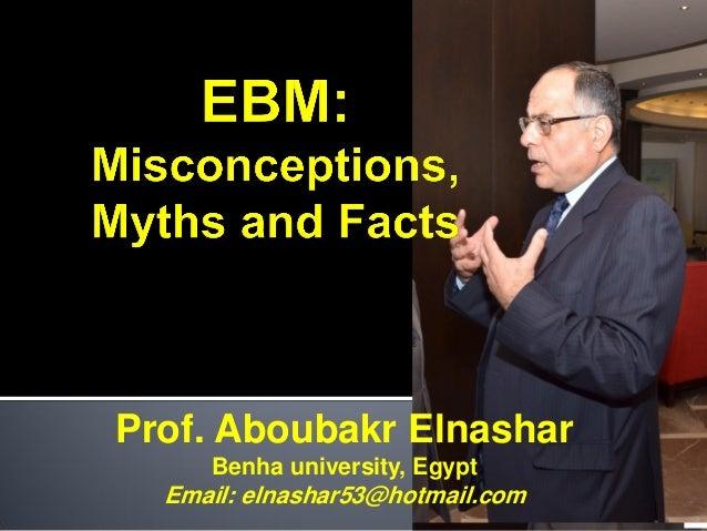Prof. Aboubakr Elnashar Benha university, Egypt Email: elnashar53@hotmail.com