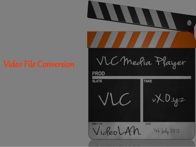 Video File Conversion