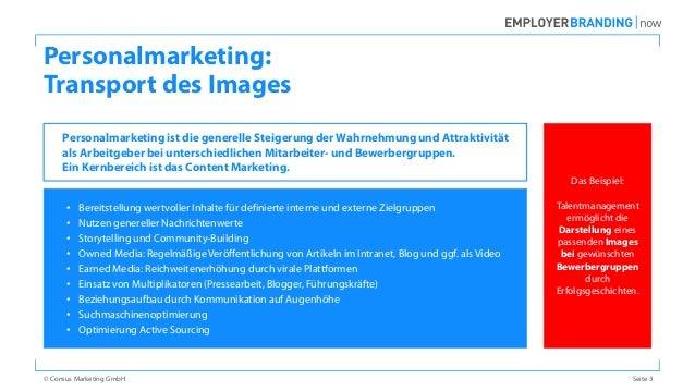 Abgrenzung Employer Branding, Personalmarketing und Recruiting Slide 3