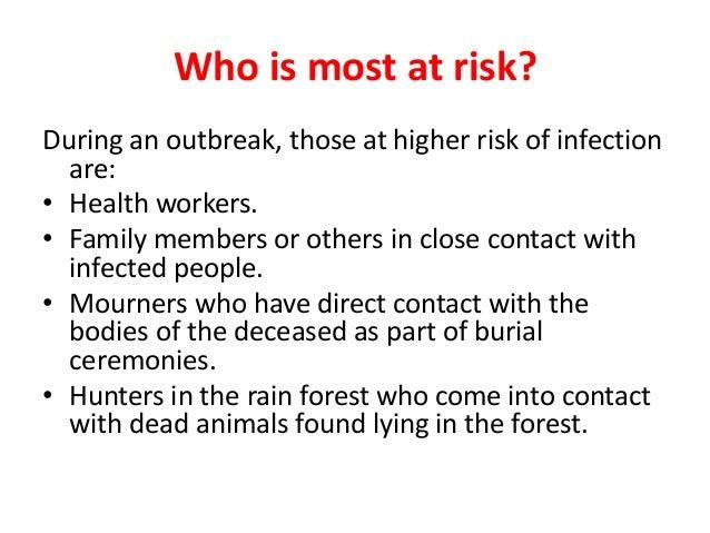Ebola hemorrhagic fever