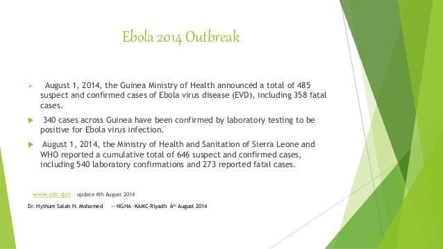 Ebola Virus Infection