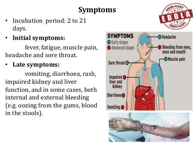 Ebola infection