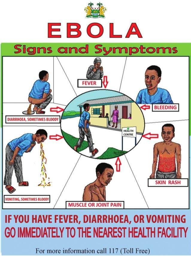 Global Medical Cures™ | CDC- Ebola Signs & Symptoms