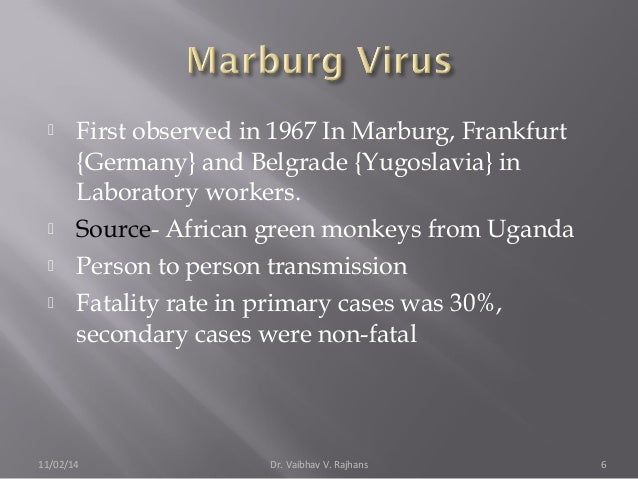 Origins of the 2014 Ebola epidemic