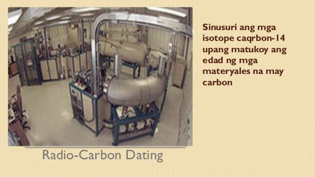 Ano Ang ibig sabihin ng radio karbon dating