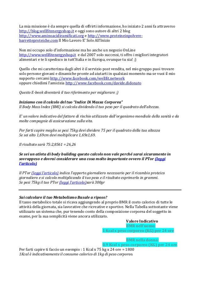 La mia missione è da sempre quella di offrirti informazione, ho iniziato 2 anni fa attraversohttp://blog.wellfitenergyshop...