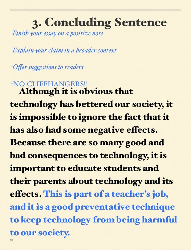 essays on why technology is bad Essay: what effect does technology have on us humans i'm not saying technology is bad, technology is changing i followed the essay guideline.