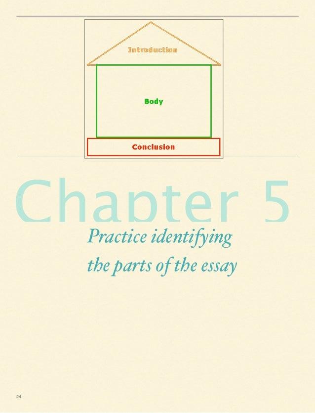 Identify parts of essay