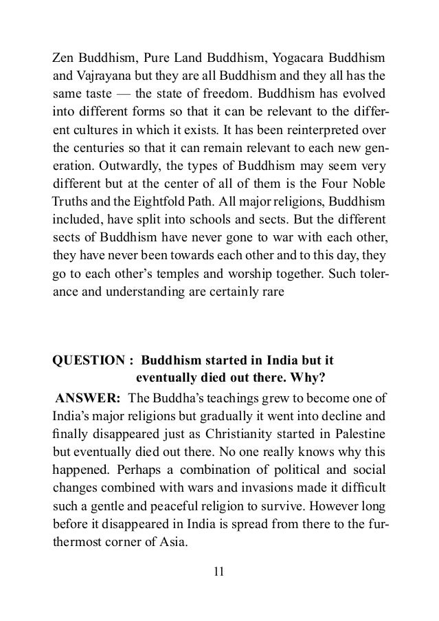 buddhism good question good answer – Buddhism Worksheets