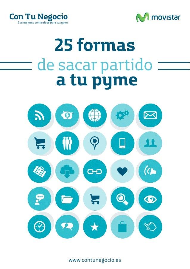 25 formas de sacar partido a tu pyme