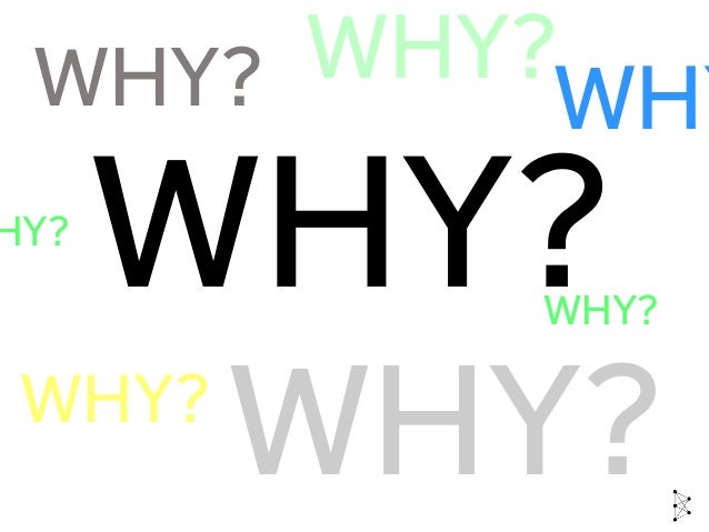 WHY WHY? ? WHY? WHY?WHY? HY? WHY? WHY?