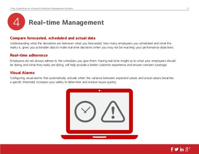 7 Key Capabilities for a Powerful Workforce Management Solution