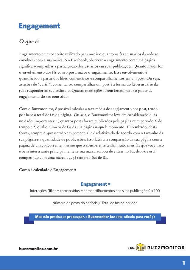 Ebook E.life Buzzmonitor 6 métricas essenciais para gerenciar a presença da sua marca no Facebook Slide 3