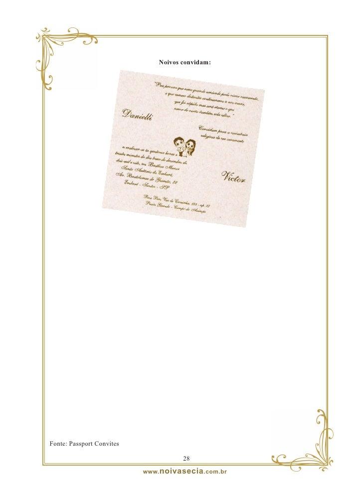 Exemplos envelope                 2  www. noivasecia .com.br