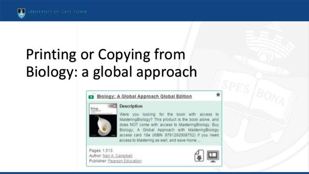Printing or Copying from Biology: a global approach