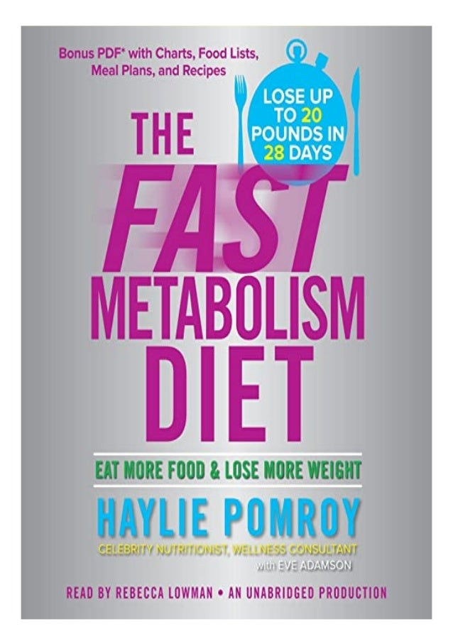 download fast metabolism diet free pdf