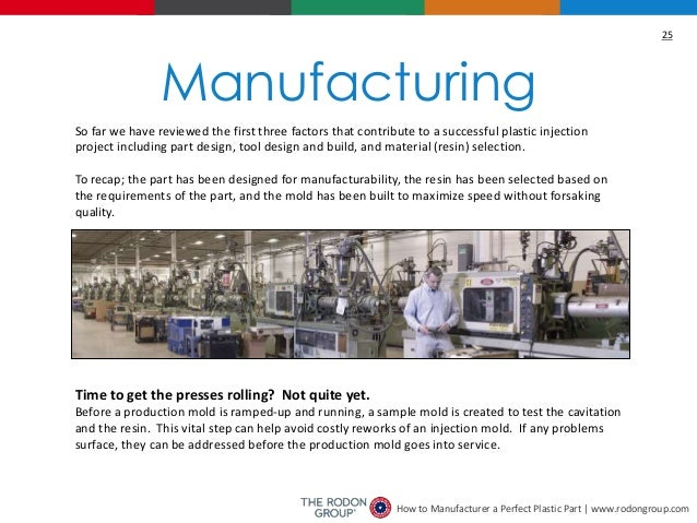 Manufacturing a Perfect Plastic Part Ebook